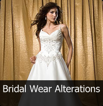 Bridal wear and alterations